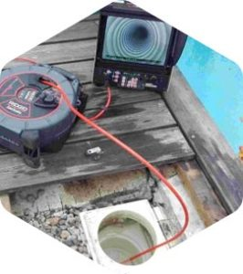 inspection camera canalisation